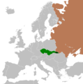 Location of the Carpathian Ukraine and Czechoslovakia during their assignment in 1948.png