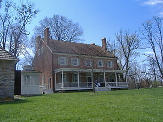 Historic Locust Grove - Image: Locust Grove closeup