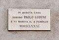 Lodi lapide Paolo Gorini.JPG