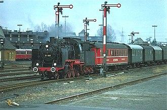 Schichau-Werke - Locomotive 24 009 from 1928