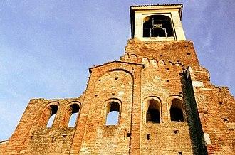 Lomello - The ruins of the Basilica of Santa Maria Maggiore