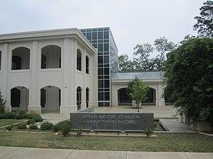 Lon Morris College - Arthur and Evie Jo Wilson Administration Building