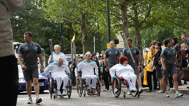 London 2012 Paralympic Games torch relay.jpg