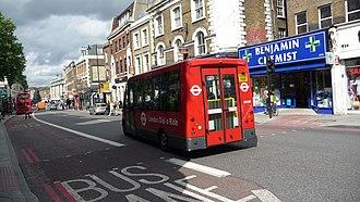 Mellor Tucana - Image: London Dial a Ride D7005 YX08 FKP rear
