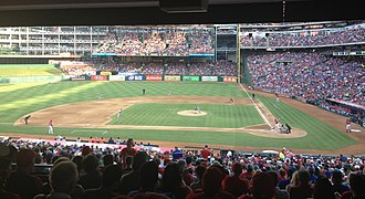 Lone Star Series - Houston plays Texas at Globe Life Park in Arlington during the 2013 edition of the Lone Star Series