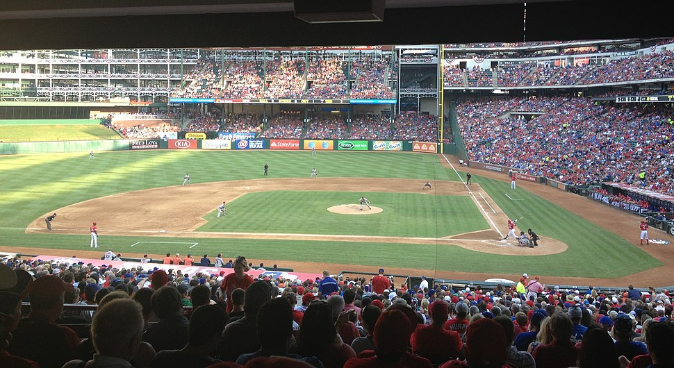 Lone Star Series, Houston Astros vs Texas Rangers at Globe Life Park in Arlington, 2013