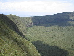 Mount Longonots nationalpark - Vulkankrateret