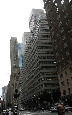 Look (American magazine) - Look Building on Madison Avenue in New York