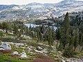 Looking back at Tamarack Lake (I think) (3076399108).jpg