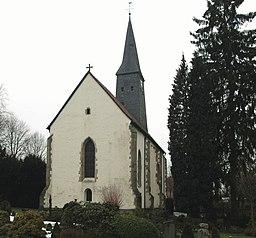 Lotte, evangelische Kirche, Ostseite