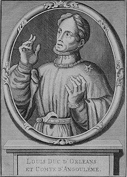 Louis d'Orléans, gravure du XIXe siècle