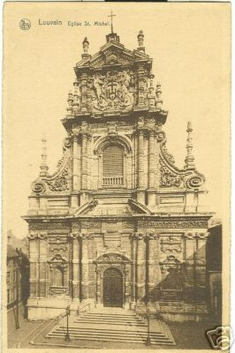 Spanish Baroque architecture - Church of St. Michel in Louvain, Belgium: Willem Hesius, 1650.