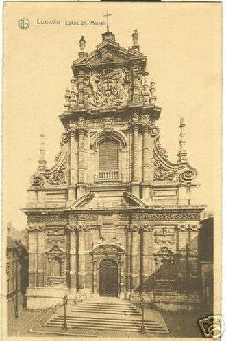 Spanish Baroque architecture - Church of St. Michel in Louvain, Belgium: Willem Hesius, 1650.