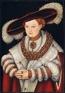 Magdalena of Saxony German noble