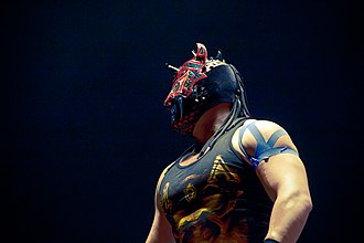 Mephisto (wrestler) - Mephisto during a match.