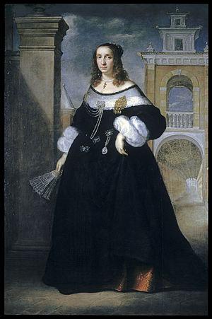 Luigi Primo - Portrait of a Noblewoman of Ancona (1650-1660)