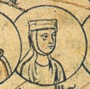 Liutgard of Saxony (died 953) - Image: Luitgarda of Saxony