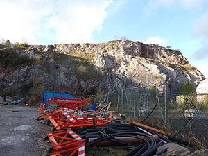 English Riviera Geopark - Lummaton Quarry, Torquay.