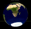 Lunar eclipse from moon-1974Jun04.png