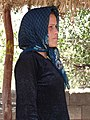 Lurish Woman Vendor at Roadside - Near Gachsaran - Southwestern Iran (7424771630) (2).jpg