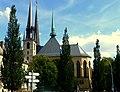 Luxemburg - Kathedrale unserer lieben Frau von Luxemburg - Cathédrale Notre-Dame de Luxembourg - panoramio (1).jpg