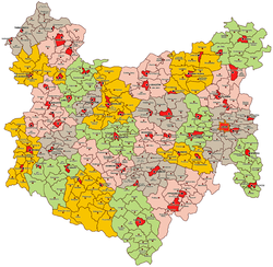 Lwów Voivodeship Administrative Map 1938.png