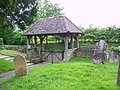 Lych gate, St Nicholas Church, Kingsley - geograph.org.uk - 1344140.jpg