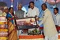 M. Venkaiah Naidu honouring the Achievers of 'Crusade for Toilets', at the 'Swachhta Hi Sewa' and 'A Crusade for Toilets' programmes under Swachh Bharat Abhiyan, at Konnur Village, Gadag District, Karnataka.jpg