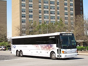 Motor Coach Industries - Image: MCI D4500 commuter coach demonstration bus 59654