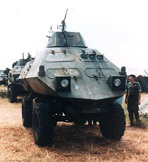 Mine Protected Combat Vehicle - Mine Protected Combat Vehicles (MPCV) c.1979-1980