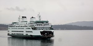 MV Samish - Image: MV Samish Arriving in Anacortes