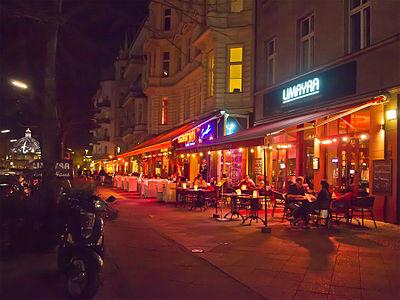 Restaurants between Nollendorfplatz and Winterfeldplatz in Schöneberg