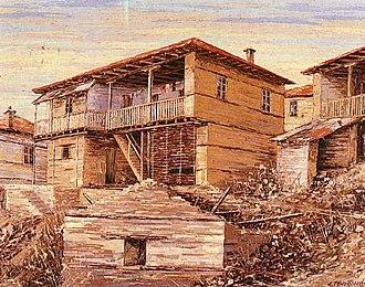 Florina Art Gallery - Image: Macedonian Museums 12 Pinakothiki Florinivtvn 58