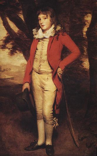 Sir George Mackenzie, 7th Baronet - Sir H.Raeburn. Portrait of Sir G.S.Mackenzie,7th Bart. Size 63 x 41.5 in.