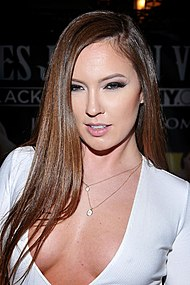 Maddy O'Reilly na AVN Adult Entertainment Expo v roce 2016