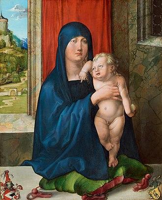 Haller Madonna - Image: Madonna Haller