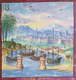 Timeline of Alexandria - Alexandria, 16th century