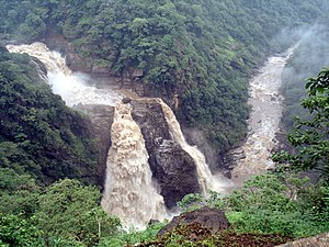 Gangavalli River - Magod Falls a part of Ganagavali River