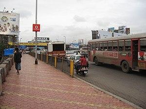 Mahim Causeway - The Mahim Causeway