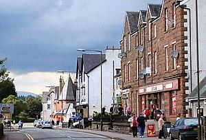 Aberfoyle, Stirling - Image: Main Street, Aberfoyle