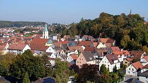 Mainburg - City Center of Mainburg