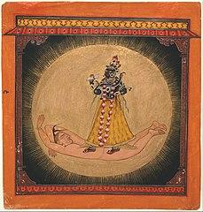 Bhadrakali within the Rising Sun