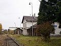 Malá Morávka, nádraží, budova, od Rudné.jpg