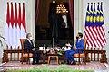 Malaysian Prime Minister Muhyiddin Yassin Meets With Indonesian President Joko Widodo.jpg