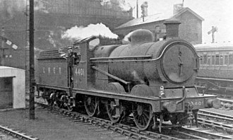 GCR Class 9J - No. 4401 at Manchester London Road Station in 1948