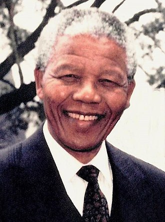 President of South Africa - Image: Mandela 1991