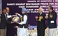 Manmohan Singh giving away the Shanti Swarup Bhatnagar Prize for Science and Technology 2008 to Dr. Jaikumar Radhakrishnan of Mumbai for his outstanding contribution in Mathematical Sciences, in New Delhi.jpg