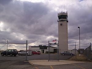 Mansfield Lahm Regional Airport - Control Tower (ATCT) at Mansfield