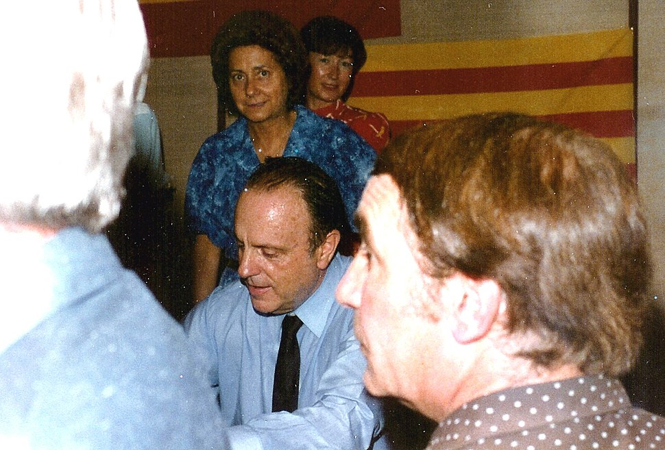 Manuel Fraga durante la Transicion