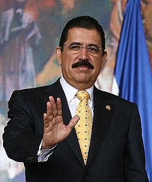 2009 Honduran coup d'état - President Zelaya in 2007
